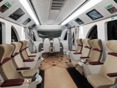 """弾丸カタール1912  「空港に乗り入れたばかりの世界一豪華な地下鉄""""ドーハメトロ""""で市内の見どころを巡りました。」  ~ドーハ~"""