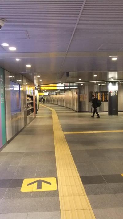 閑散とした渋谷へ