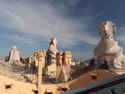 またやってしまいました歩き倒しの旅 in バルセロナ (2)カサ・ミラ&カサ・パトリョ