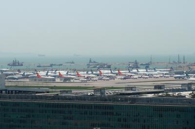 香港★香港は今日も元気です1 東涌でプチハイキングして 空港を眺める ~新明發・観景山~