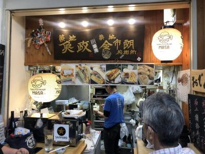 築地発のテイクアウト飯(その1)~食材の宝庫、築地で今食べられる各種テイクアウトの紹介~