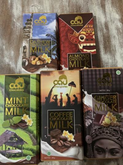バリ島のお土産、オーガニックチョコレート