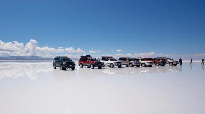 新型コロナウイルスによるイベント等自粛が広がる中、ペルー&ボリビアへ 6.天空の鏡ウユニ塩湖 ②