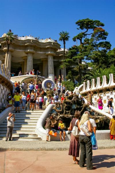 回顧録 4泊7日 スペイン バルセロナ・サラゴサ万博 その6 グエル公園にがっかり