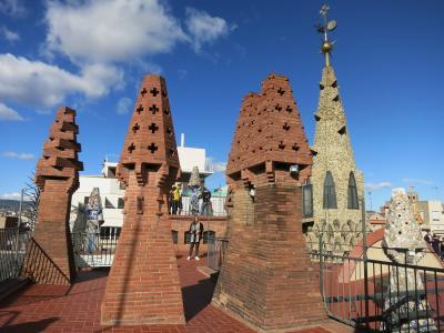 またやってしまいました歩き倒しの旅 in バルセロナ (3)カサ・ビセンス&グエル邸