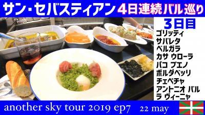サン・セバスティアン バル巡り 4日連続 3日目 another sky tour 2019