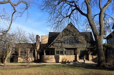 ANA特典ファーストで行くニューヨーク・シカゴ、オークパークのフランク・ロイド・ライト邸とスタジオ