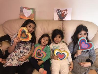 4姉妹は元気です!!   from Napoli
