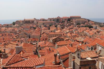 COLORS 橙・青・翠玉色の憧憬  Croatia へ2019 夏 2nd days ~ドブロブニク観光