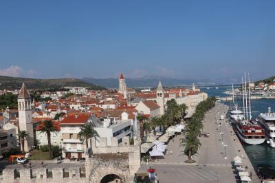 COLORS 橙・青・翠玉色の憧憬 Croatia へ2019 夏 6th days ~トロギールへ