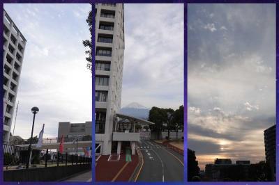 散歩・朝日を見ながら 2020.02.14