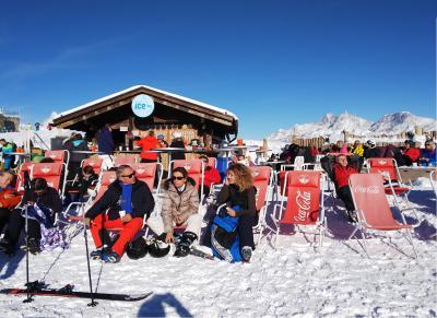 ツェルマット、スキー1日目 グレーシャーパラダイスからイタリアのチェルビニアへ