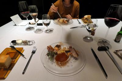 GWのエクシブ箱根離宮2泊 完全個室 イタリア料理 リストランテ ターナの夕食