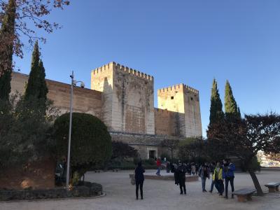 アルハンブラ宮殿は思った以上に素晴らしかった―アルカサバ編