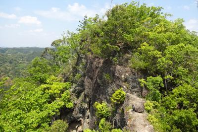 獅子ヶ鼻(ししがはな)トレッキング(2/3)山中の迷路を歩いて『浮き石』『八畳岩』へ