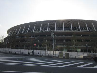 東京2回目の目的 アルバイト面接&国立競技場下見