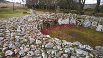 2020 Feb Scotland 8 お腹いっぱい?石の特盛りお待ちっ!
