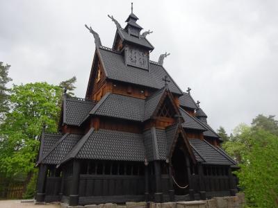 混乱の10連休、北欧の美しい自然と街巡りの旅:スウェーデン、ノルウェー旅行【24】(2019年GW 6日目③ ヴァイキングの「お城」)