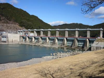 2020年1月30日:ダムカード収集-47 静岡天竜川再訪編 (前編) 新たに配布対象施設となった「船明ダム」訪問