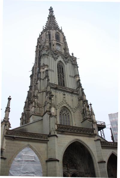 ベルン 旧市街、大聖堂 & フランス国鉄のストライキ