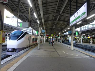 人のいないところへ2 常磐線復旧区間に行く【その5】 9年ぶりに復活した「仙台行き」特急ひたちに乗る