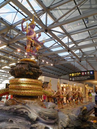 2015年 社員旅行&出張(シンガポール&バンコク:6 days) =Day 6= ~バンコクから名古屋へ~