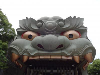 大阪市内神社巡り