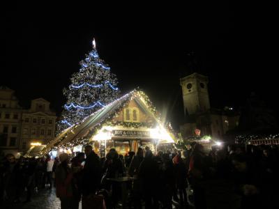 2018年チェコ3都市5つのクリスマスマーケット巡り