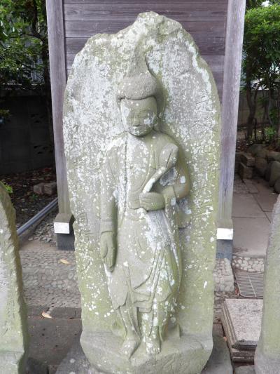 福聚院の庚申塚(横浜市港南区港南1)