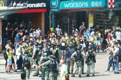 香港★香港は今日も元気です1 新型肺炎が少し落ち着きあちこちで抗議活動が