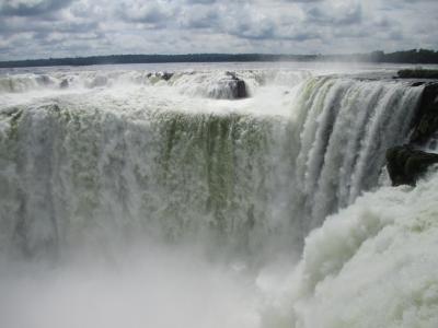 ブエノスアイレスからイグアス瀑布行程