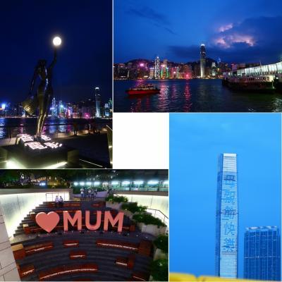 香港★香港は今日も元気です2 母親節快樂!アフタヌーンティーのあと夜景を楽しむ ~ラ ランブラ・ピザ エクスプレス~