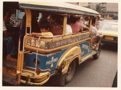 パキスタン航空で行った初フィリピン (1983年12月~'84年1月)