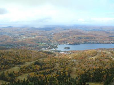 紅葉のローレンシャン高原