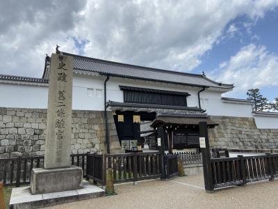 自粛明け、京都二条城へ