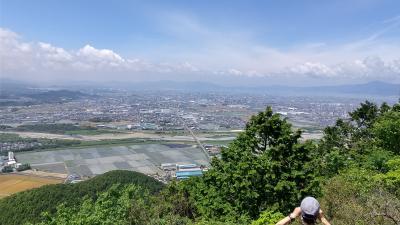 久しぶりに 三上山に登ってみた