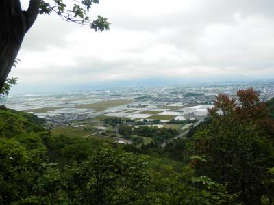 東近江の里山歩き~ ① 「繖山」