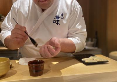極上寿司を満喫~元ミシュラン二つ星店「海味(うみ)」~