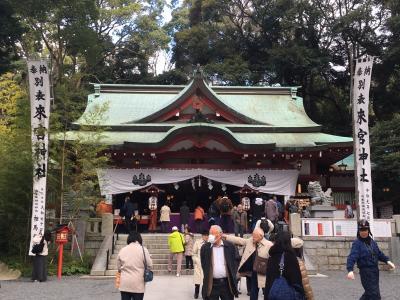 静岡県の散策:熱海・来宮神社