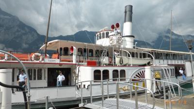 スイス 鉄道でぐるっと一回り17日間(12) スイス南端のルガーノから鉄道と船でルッツェルンへ