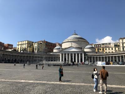 熟年夫婦イタリア・コートダジュール1カ月の旅⑧ 旅行10日目 (ナポリ3日目)
