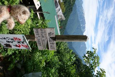 目指せ、国内3000m級22峰踏破!<18-2>早月尾根~剱岳~剱澤~仙人温泉~阿曽原温泉~欅平 ②雲切新道 尾根頂上まで!