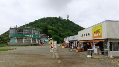 筑波山に北側から登る。