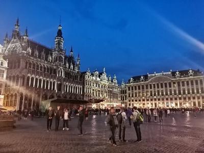 シニア主婦のユーレイルパス一人旅(15) ブリュッセル