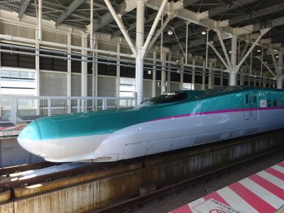 北海道新幹線で浅虫温泉へ