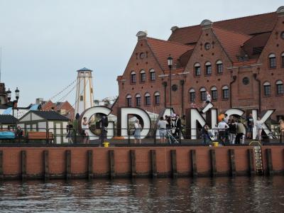 2019年夏 スロバキア・ポーランド旅行 港町グダンスク(ポーランド)4 大製粉所・歴史博物館・運河クルーズ