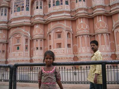 2010 夏 インドの旅③ 初インド上陸、ピンクだらけのジャイプールの巻