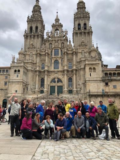 2019春 聖地サンティアゴ巡礼北の道 Camino Norte(17)Azúa to Santiago de Compostela