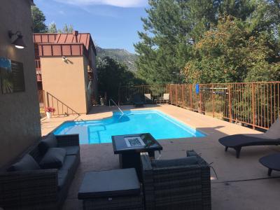 コロラド州 デュランゴ - モーテルに宿泊