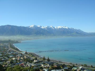 ニュージーランドのんびり旅行⑩ カイコウラ